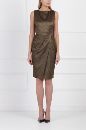 Платье Michael Kors Collection. Цвет: коричневый