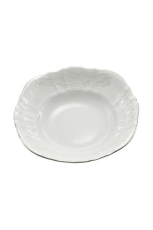 Салатник BERNADOTTE. Цвет: белый, серебряный