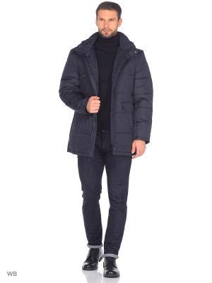 Куртка Donatto. Цвет: темно-синий