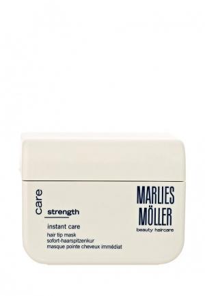 Маска для волос Marlies Moller Strength мгновенного действия кончиков 125 мл. Цвет: белый