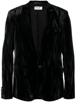 Костюмный пиджак строгого кроя Saint Laurent