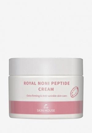 Крем для лица The Skin House Укрепляющий с пептидами и экстрактом нони, 50 мл. Цвет: прозрачный