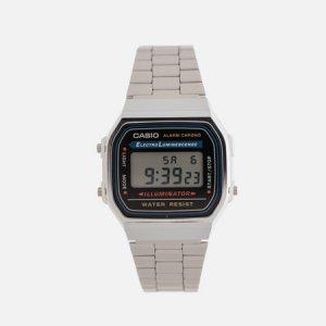 Наручные часы Collection A-168WA-1 CASIO. Цвет: серебряный