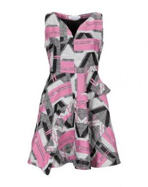 Короткое платье PARAKIAN. Цвет: светло-фиолетовый