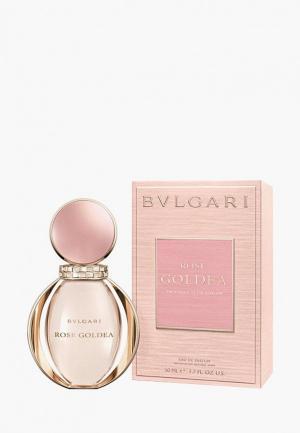 Парфюмерная вода Bvlgari Rose Goldea 50 мл. Цвет: прозрачный