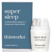 Спрей двойного действия для подушки Super Sleep от this works, 40 мл Works