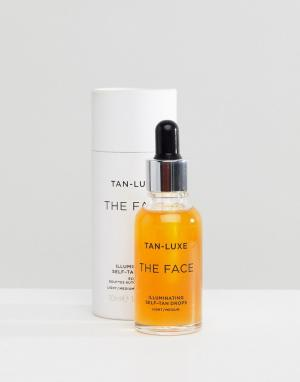 Капли для блестящего автозагара  Face Tan Luxe