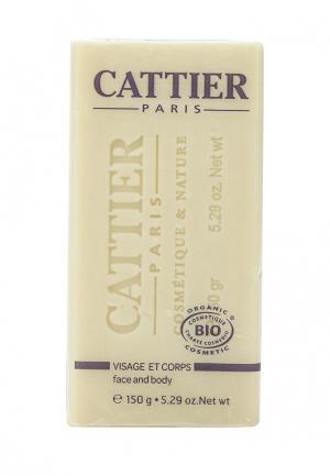 Мыло Cattier мягкое натуральное с маслом карите, 150 гр