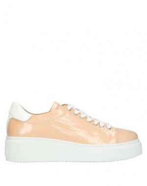 Низкие кеды и кроссовки LAURA BELLARIVA. Цвет: розовый