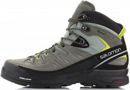 Ботинки мужские X Alp Mid, размер 42 Salomon. Цвет: серый