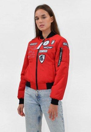 Куртка утепленная Doctor E. Цвет: красный