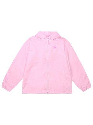 Ветровка детская MIKI HOUSE. Цвет: розовый
