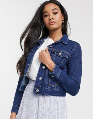 Синяя джинсовая куртка -Синий French Connection
