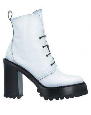 Полусапоги и высокие ботинки PREMIATA. Цвет: белый