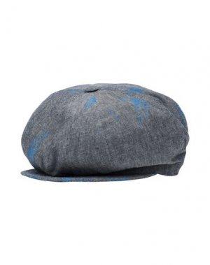 Головной убор SUPER DUPER HATS. Цвет: синий