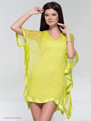 Платье Analili. Цвет: салатовый
