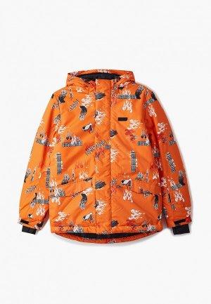Куртка сноубордическая Termit. Цвет: оранжевый