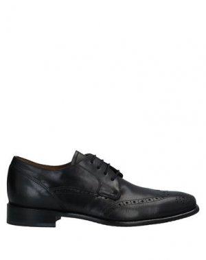 Обувь на шнурках BOOMERANG. Цвет: черный