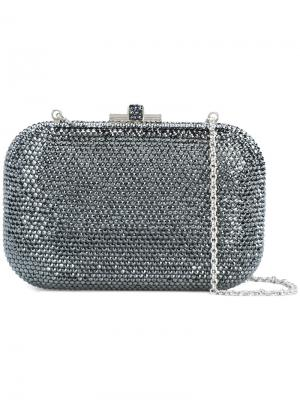 Мини-сумка с замком-защелкой Judith Leiber Couture. Цвет: чёрный