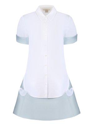 Комплект рубашка и юбка Antonio Berardi. Цвет: разноцветный