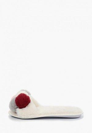 Тапочки T.Taccardi. Цвет: белый