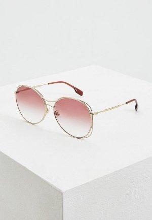 Очки солнцезащитные Burberry BE3105 11098H. Цвет: розовый