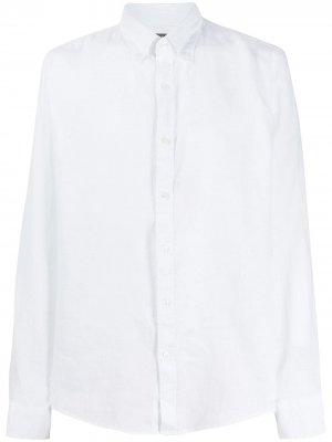Однотонная рубашка Michael Kors. Цвет: белый