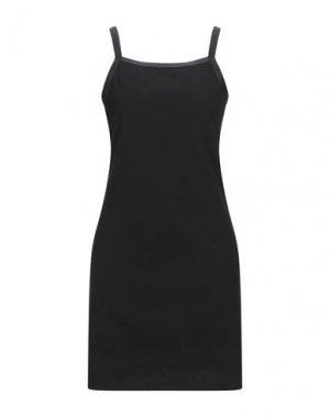 Короткое платье DR. DENIM JEANSMAKERS. Цвет: черный