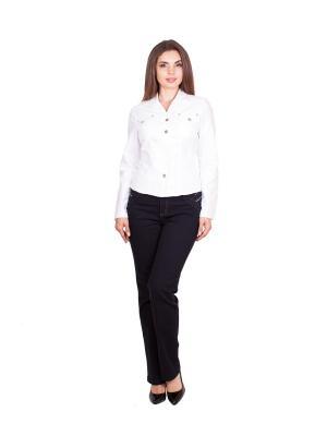 Куртка NAKAD. Цвет: белый