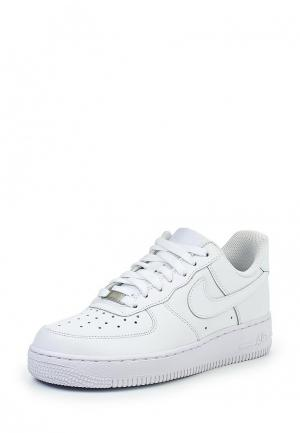 Кеды Nike WOMENS AIR FORCE 1 07 SHOE. Цвет: белый