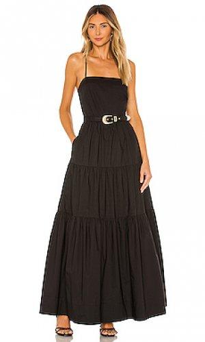 Макси платье kerala NICHOLAS. Цвет: черный