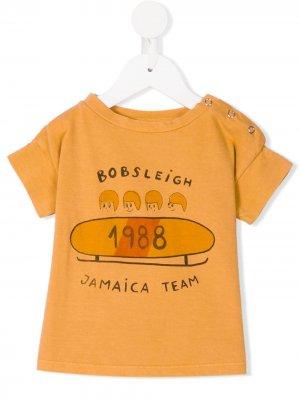Футболка Jamaica Bobo Choses. Цвет: желтый