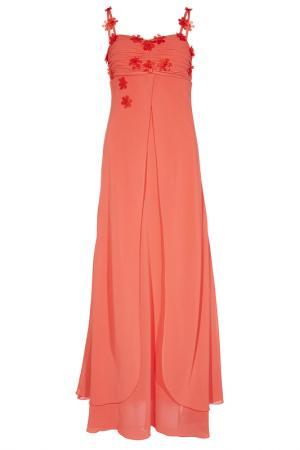 Шифоновое платье Apart. Цвет: красный