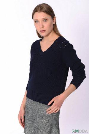 Пуловер Set. Цвет: чёрный