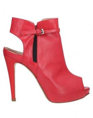 Полусапоги и высокие ботинки KATE. Цвет: красный