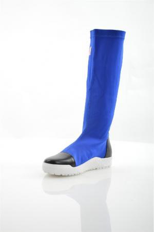 Сапоги ELSI. Цвет: синий
