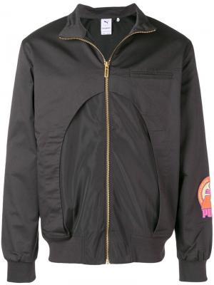 X Han Kjøbenhavn куртка-бомбер Puma. Цвет: серый