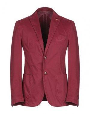 Пиджак JERRY KEY. Цвет: кирпично-красный