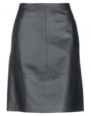 Юбка до колена LUISA CERANO. Цвет: черный