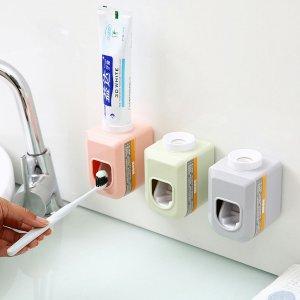Автоматическая соковыжималка для зубных паст 1шт SHEIN. Цвет: многоцветный