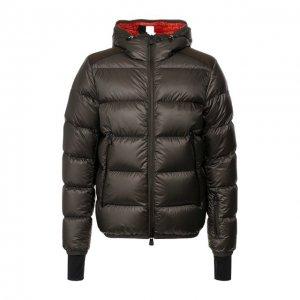 Пуховая куртка Hintertux Moncler Grenoble. Цвет: хаки