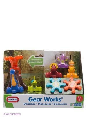 Игровой набор Заводные динозавры Little Tikes. Цвет: оранжевый, синий, салатовый, коричневый
