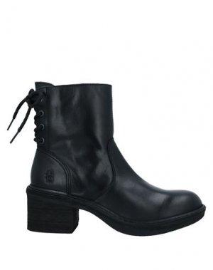 Полусапоги и высокие ботинки FLY LONDON. Цвет: черный