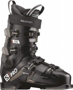 Ботинки горнолыжные S/PRO 100, размер 28 см Salomon. Цвет: черный
