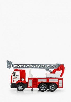 Игрушка интерактивная Технопарк Камаз Пожарная машина. Цвет: красный