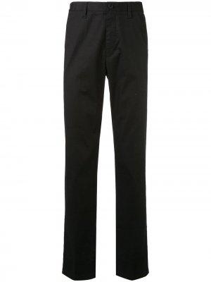 Классические брюки чинос Kent & Curwen. Цвет: черный