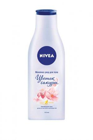 Молочко-уход для тела Цветок NIVEA. Цвет: белый