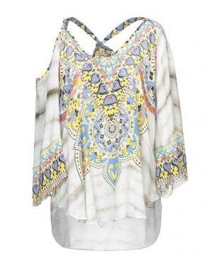 Блузка HALE BOB. Цвет: светло-серый