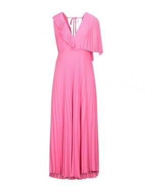 Длинное платье HANITA. Цвет: розовый
