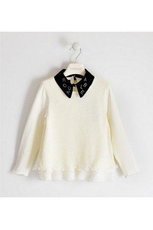 Блуза Sarabanda. Цвет: белый